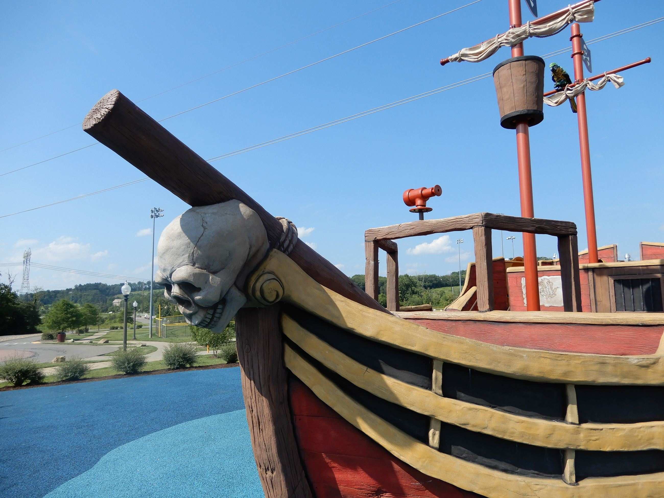 Pirate ship playground